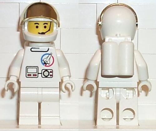 SPLC002 LEGO® Launch Command - Astronaut, Airtanks (no vizor)