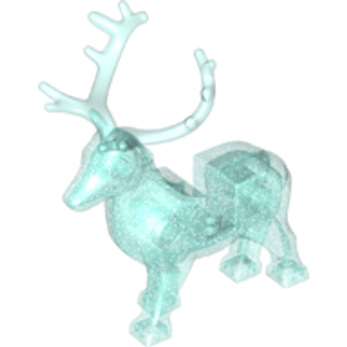 51493c01 LEGO® Stag, Male with Trans-Light Blue Antlers