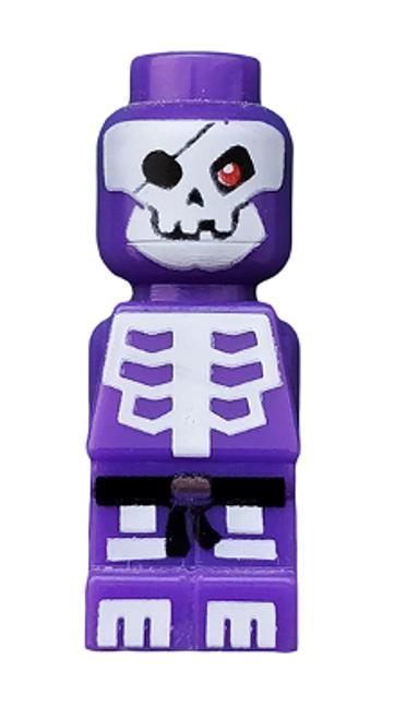 85863PB052 LEGO® Microfigure Ninjago Skeleton Dark Purple