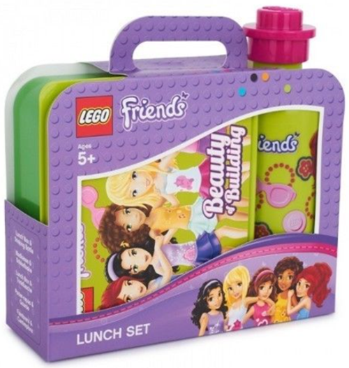 5003563 LEGO® Lunch Box Set, Friends Green