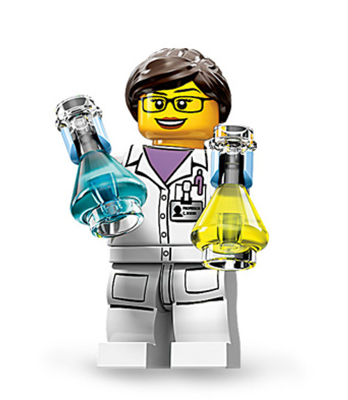 71002-11 LEGO® Scientist (minifigure only)