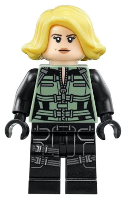 SH494 LEGO® Black Widow - Blond Hair