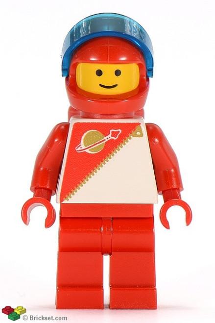 SP015 LEGO® Futuron Red (glued back)