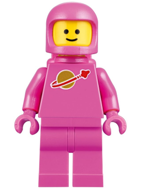 TLM108 LEGO® Classic Space - Pink with Airtanks and Updated Helmet (Lenny)
