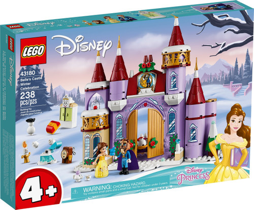 43180 LEGO® Belle's Castle Winter Celebration