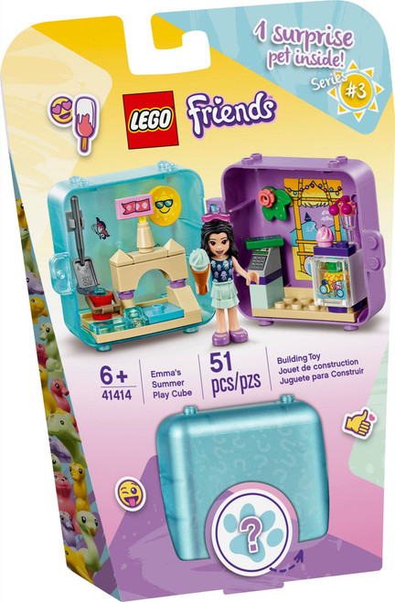 41414 LEGO® Friends Emma's Summer Play Cube