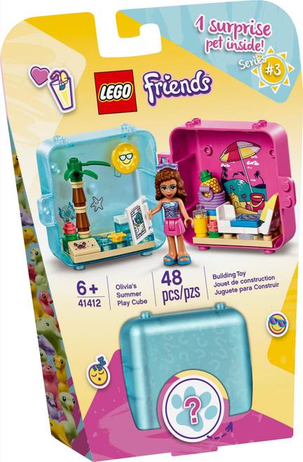 41412 LEGO® Friends Olivia's Summer Play Cube