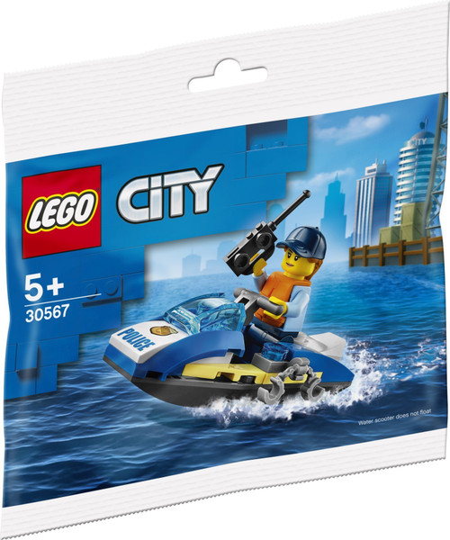 30567 LEGO® City Police Water Scooter Polybag
