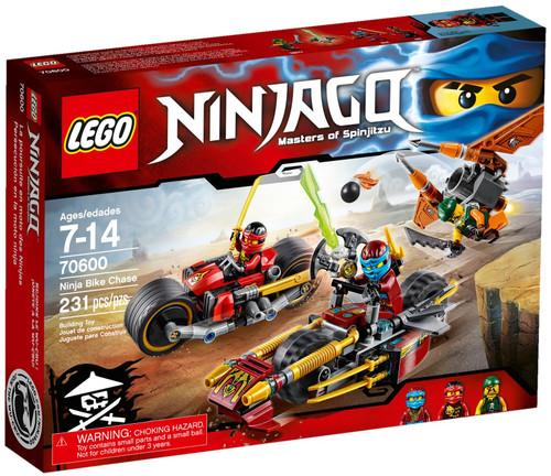 70600 LEGO® Ninjago Ninja Bike Chase