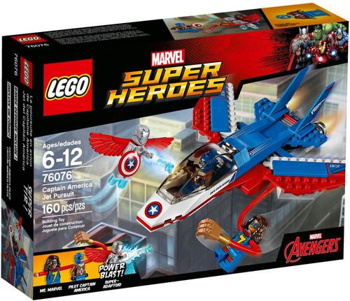 76076 LEGO® Marvel™ Super Heroes Captain America Jet Pursuit