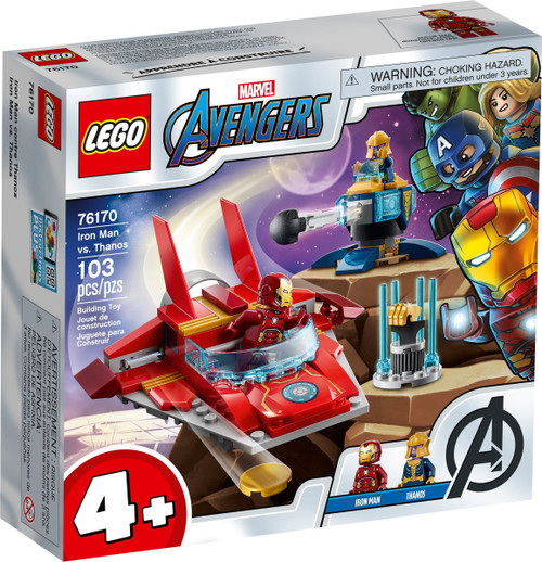 76170 LEGO® Juniors Iron Man vs. Thanos