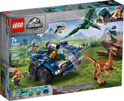 75940 LEGO® Jurassic World™ Gallimimus and Pteranodon Breakout