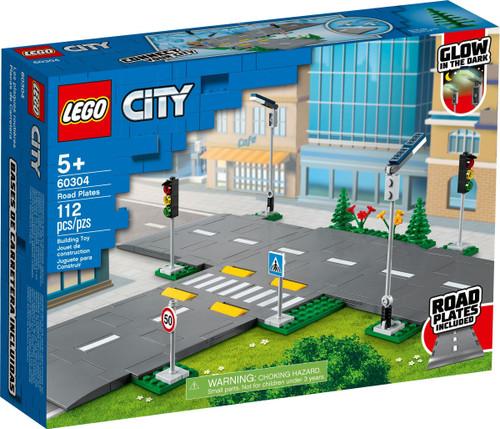 60304 LEGO® City Road Plates