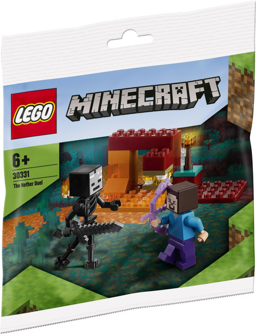 30331 LEGO® Minecraft™ The Nether Duel Polybag
