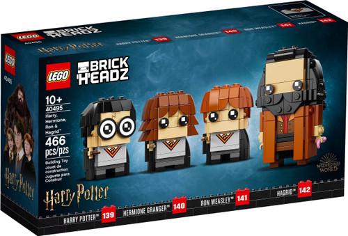 40495 LEGO® BrickHeadz™ Harry, Hermione, Ron & Hagrid