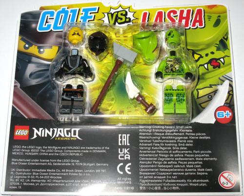 112110 LEGO® Ninjago Cole Vs. Lasha
