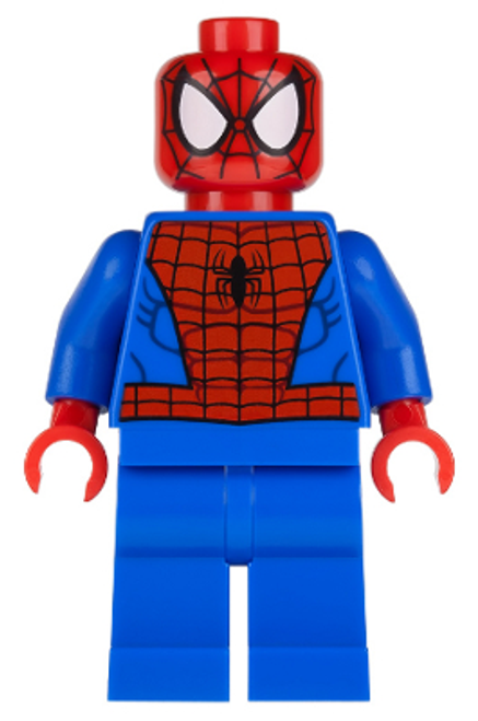 SH038 LEGO® Spider-Man - Black Web Pattern