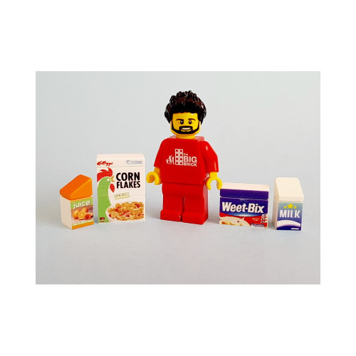 B011 LEGO® Custom Parts: Breakfast Pack