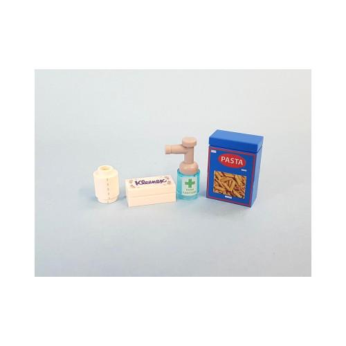 B012 LEGO® Custom Parts: Coronavirus Survival Pack