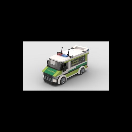 B018 LEGO® Custom Set: South Australia Ambulance