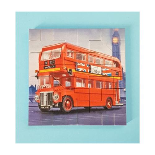 B020 LEGO® Custom Parts: Jigsaw - London Bus