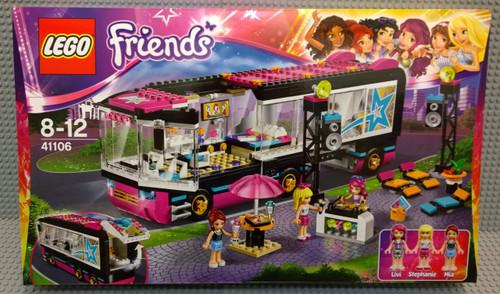 41106 LEGO® Friends Pop Star Tour Bus