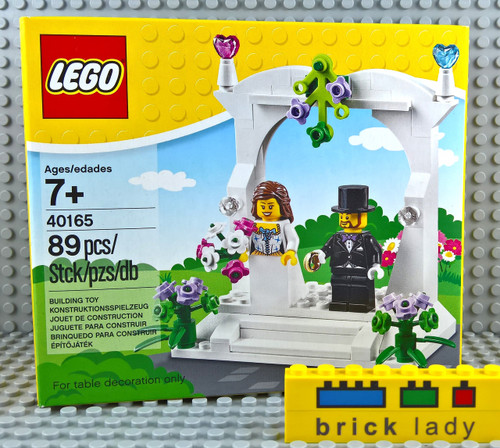 40165 LEGO® Minifigure Wedding Favour Set