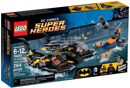 76034 LEGO® DC Comics™ Super Heroes The Batboat Harbor Pursuit