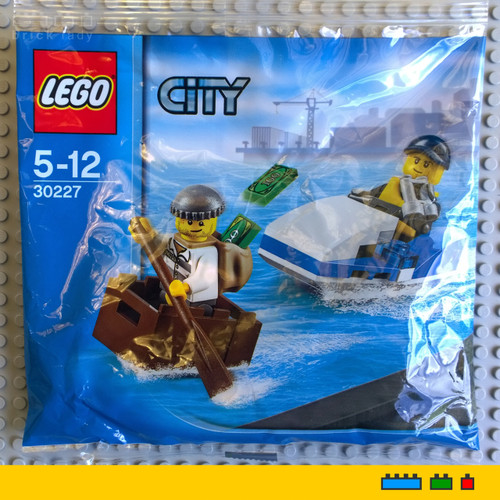 30227 LEGO® City Police Watercraft polybag