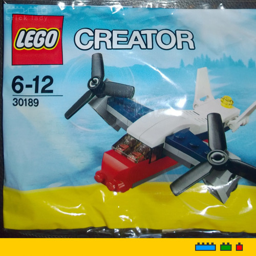 30189 LEGO® Creator Transport Plane polybag