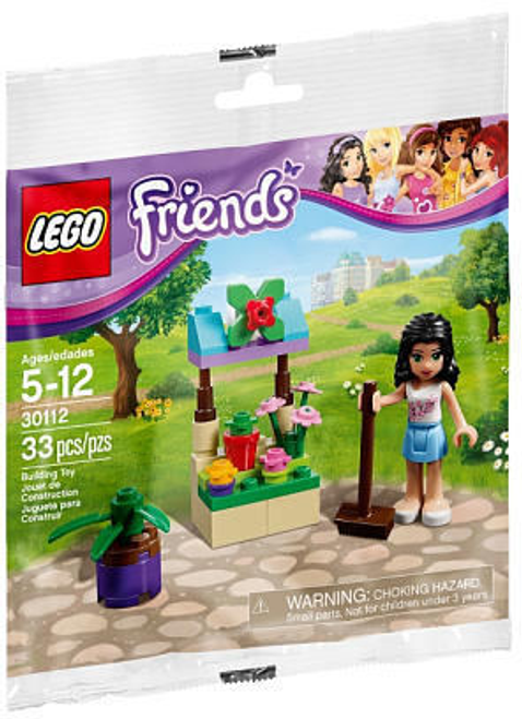 30112 LEGO® Friends Emma's Flower Stand polybag
