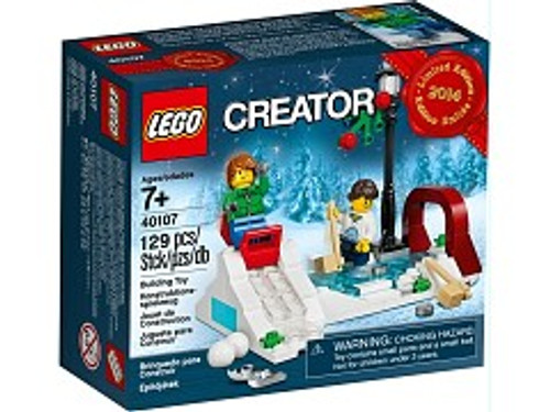40107 LEGO® Winter Skating Scene