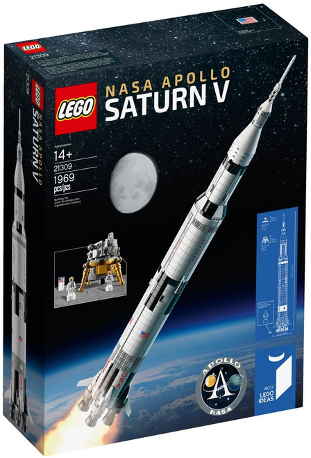 21309 LEGO® NASA Apollo Saturn V