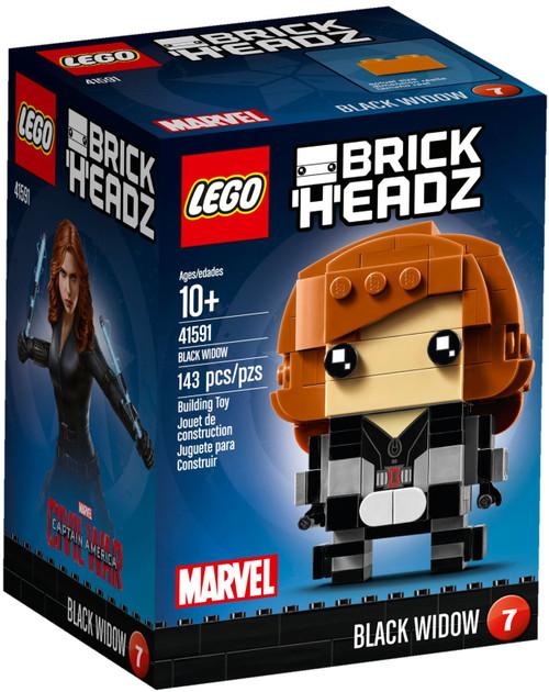 41591 LEGO® BrickHeadz™ Black Widow