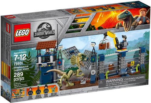 75931 LEGO® Jurassic World® Dilophosaurus Outpost Attack