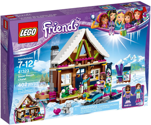 41323 LEGO® Friends Snow Resort Chalet