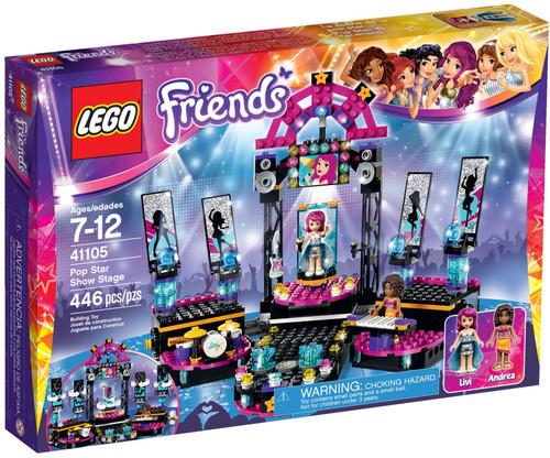 41105 LEGO® Friends Pop Star Show Stage