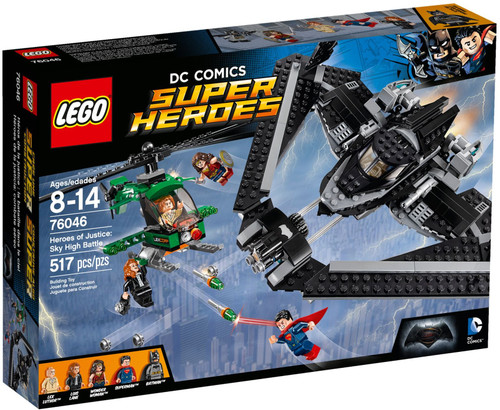76046 LEGO® DC Super Heroes® Heroes of Justice: Sky High Battle