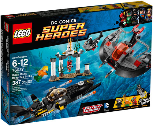 76027 LEGO® DC Super Heroes® Black Manta Deep Sea Strike