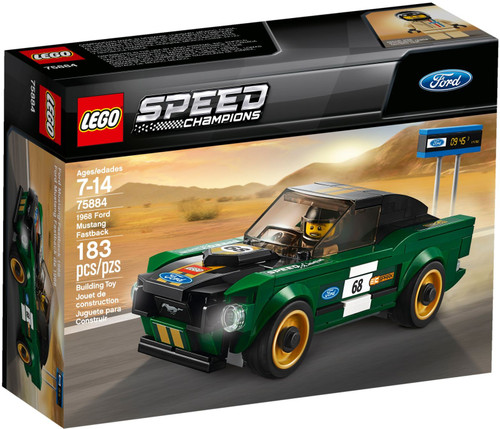 75884 LEGO® Speed Champions 1968 Ford Mustang Fastback