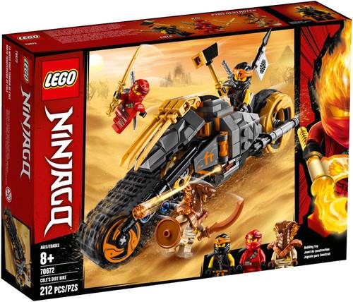 70672 LEGO® Ninjago Cole's Dirt Bike