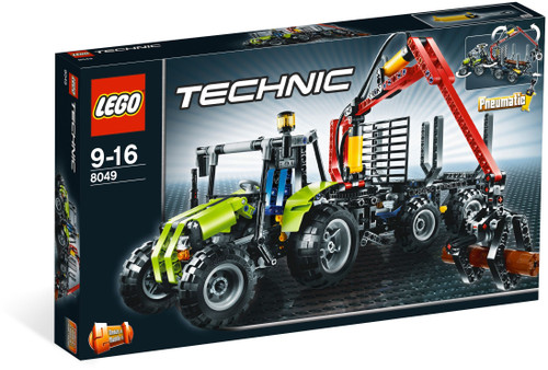 8049 LEGO® Technic® Tractor with Log Loader