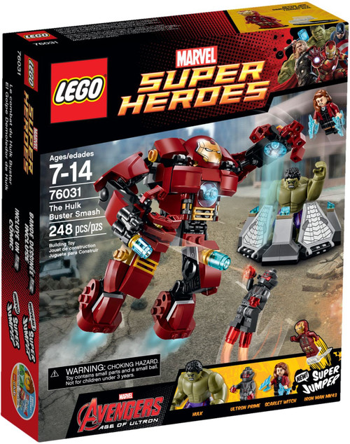 76031 LEGO® Marvel™ Super Heroes The Hulk Buster Smash