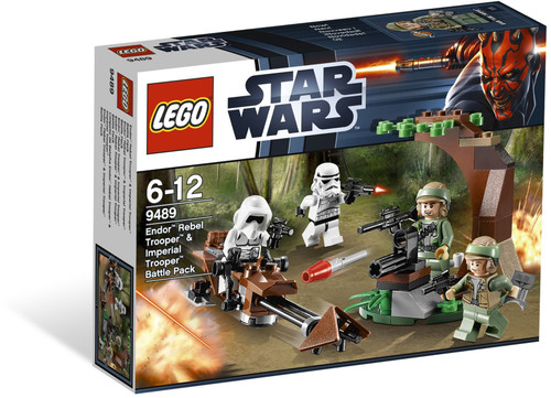 9489 LEGO® Star Wars™ Endor Rebel Trooper & Imperial Trooper Battlepack