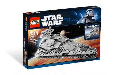 8099 LEGO® Star Wars™ Midi-scale Imperial Star Destroyer