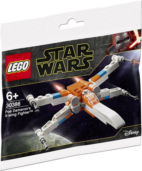 30386 LEGO® Star Wars™ Poe Dameron's X-Wing Fighter polybag