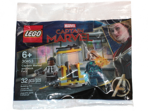 30453 LEGO® Marvel Super Heroes Captain Marvel and Nick Fury