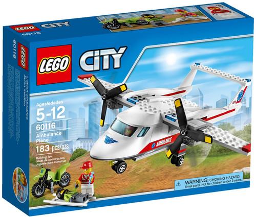 60116 LEGO® City Ambulance Plane