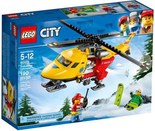 60179 LEGO® City Ambulance Helicopter