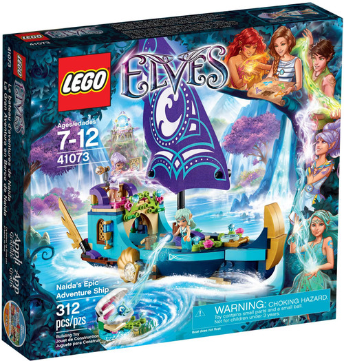 41073 LEGO® Elves Naida's Epic Adventure Ship